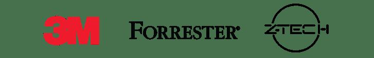 LP logos_3M + Forrester + Z-Tech