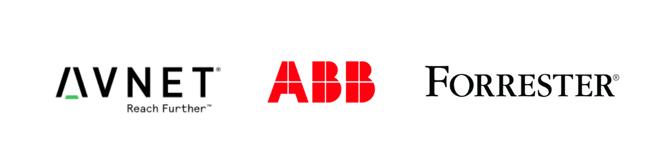 LP logos_AVNET + Forrester +ABB