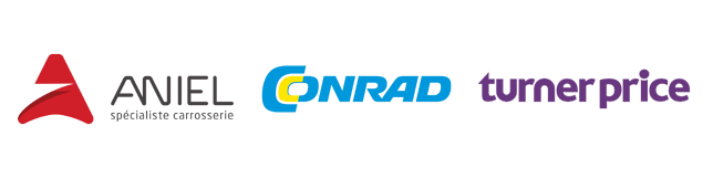 logos aniel -  conrad - turner price